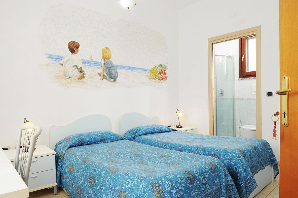 Chambre double ou lits jumeaux il giardino di valentina for Chambre double lits jumeaux