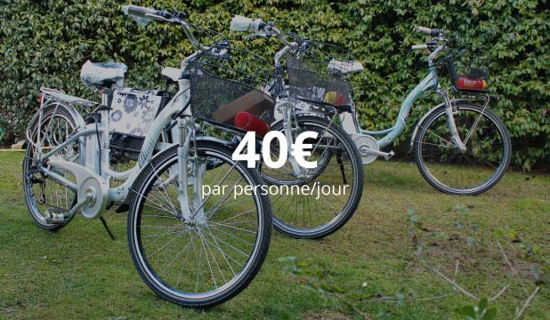 1 Nuit + Location Vélo