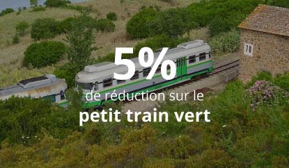 Petit Train Vert + Nuraghes - 5% de réduction sur le Petit Train Vert