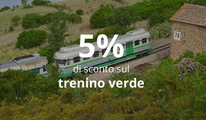 Trenino Verde + Nuraghi - 5% di sconto sul trenino verde